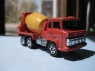 TOMICA HINO CEMENT TRUCK